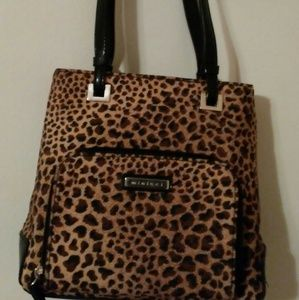 Leapard print purse and wallet